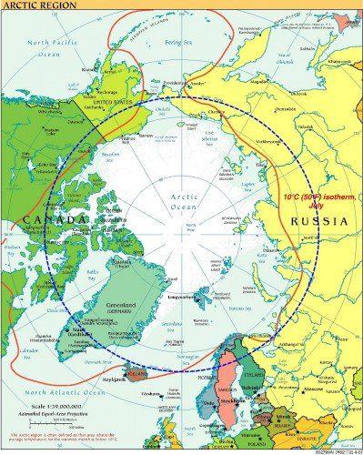 La regione artica: di quanto si scioglieranno i ghiacci?