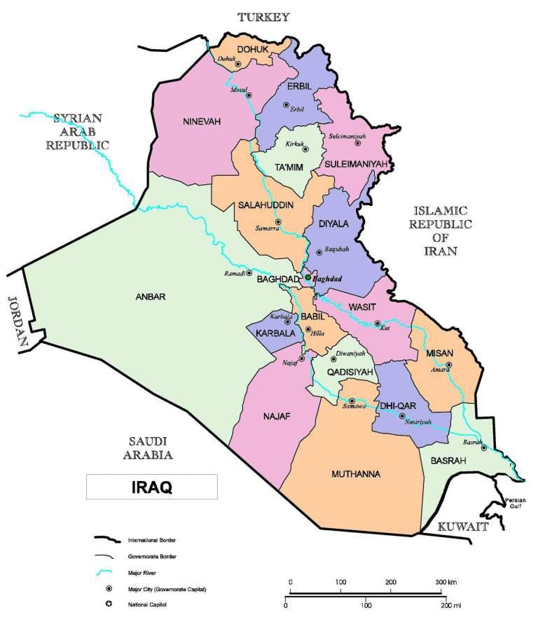 Province irachene