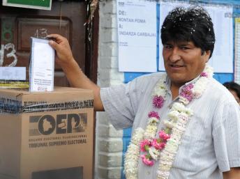 Bolivia, Morales senza rivali