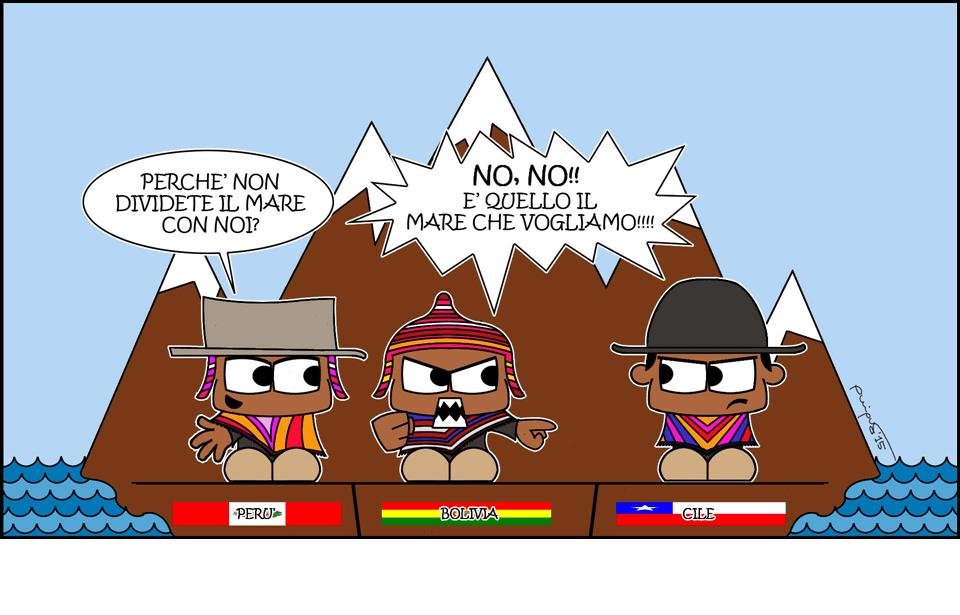 Vignetta di Quique per Il Caffè Geopolitico