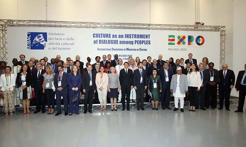 il Forum sulla cultura come strumento di dialogo, tenutosi in EXPO Milano 2015