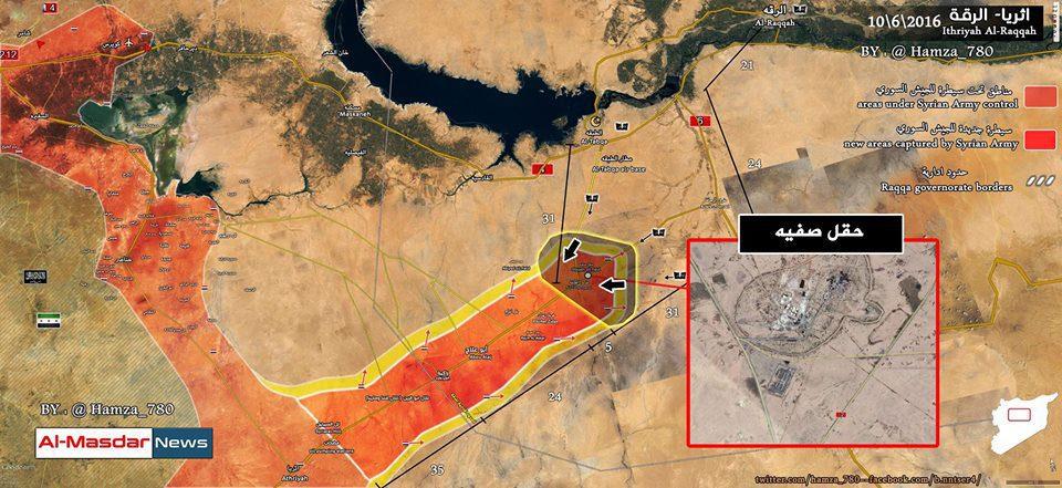Direttrici di contrattacco ISIS