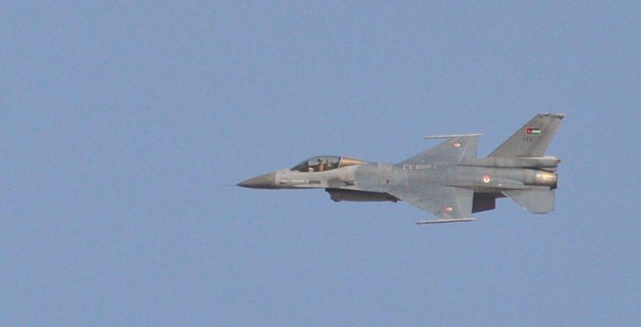 F-16A dell'aeronautica giordana